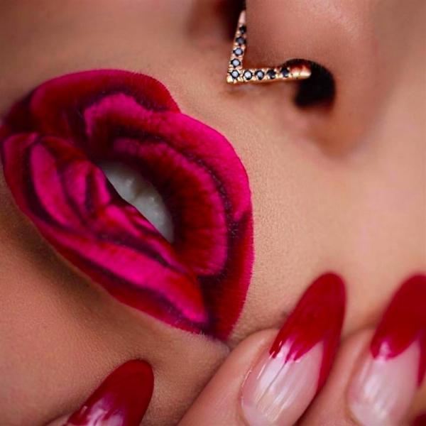 Лип-арт: 11 идей праздничного макияжа на губах