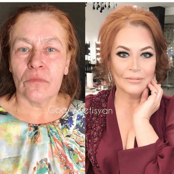 """""""Помолодели на десятки лет"""": подборка до/после макияжа"""