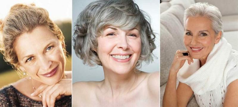 Макияж для женщин после 60 лет
