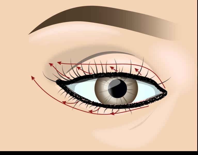 Смоки айс - универсальный макияж глаз. Пошаговая инструкция