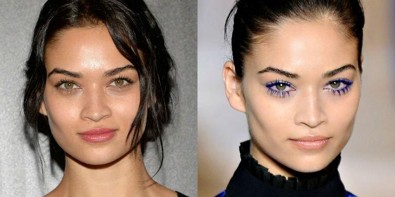 Синяя тушь для глаз - да или нет?