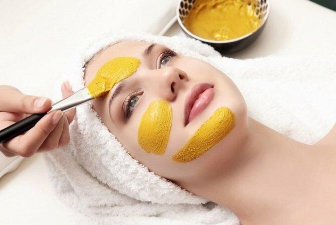 """""""Золотая"""" маска для лица"""