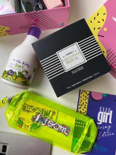Невероятная коробочка косметики Elle Box