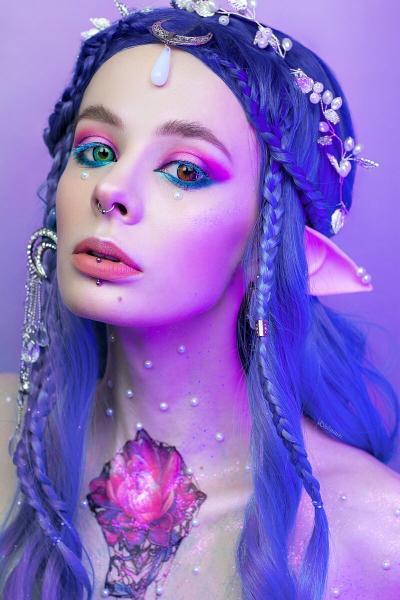 Образ Эльфийской Принцессы: как заплести парик, макияж, реквизит
