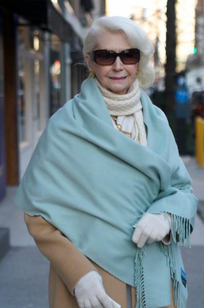 Полные женщины после 60 тоже могут выглядеть стильно