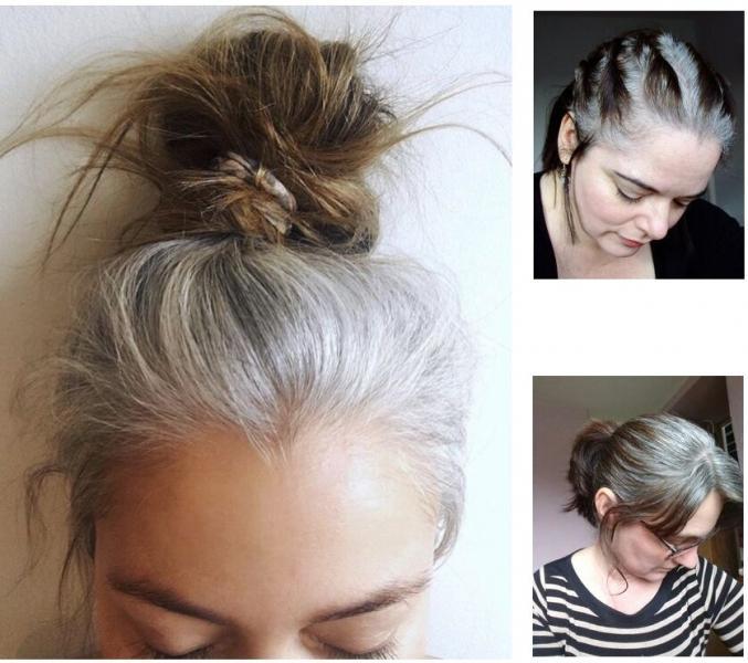Седая красота: можно ли быть стильной с седыми волосами