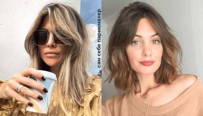 French-girl hair: Самая модная челка на осень 2020