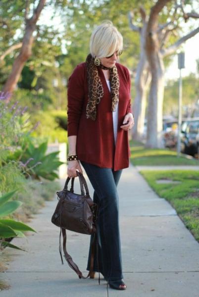 Советы по формированию осеннего гардероба для женщин 50+