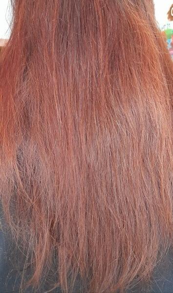 Тестирую крем-спрей для волос OLLIN.