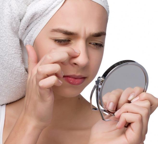 Как убрать прыщи на носу: действенные методы