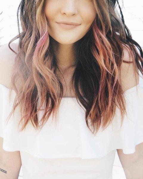 Окрашивание волос в два цвета: средства и оттенки