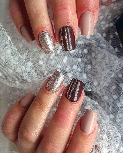Горячий шоколад: сладкий тренд осеннего маникюра