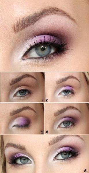 Макияж для серых глаз для брюнеток: пошаговое описание с фото