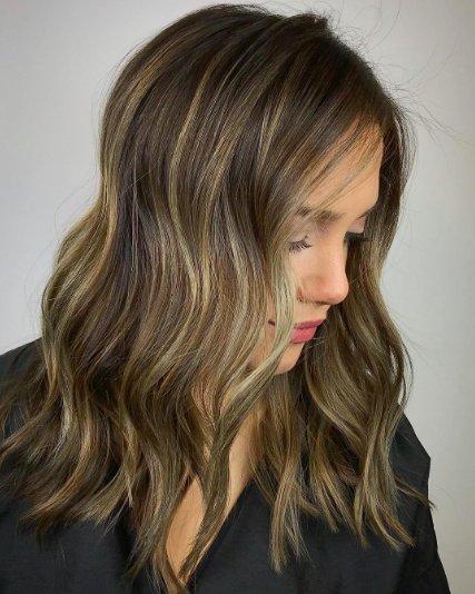 Мелирование на темных волосах: все об окрашивании