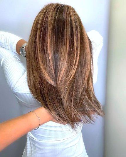 Осенний марафон: обсуждаем каштановый цвет волос