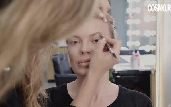 Превращение вАнджелину Джоли: как стать звездой спомощью макияжа — видео