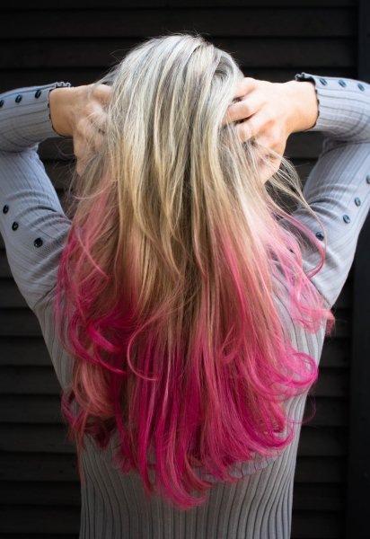 Нежно или дерзко? Все о розовом цвете волос